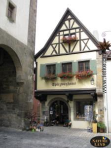 Rothenburg: Spitzweghaus